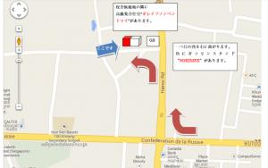 プノンペン補習校 地図2